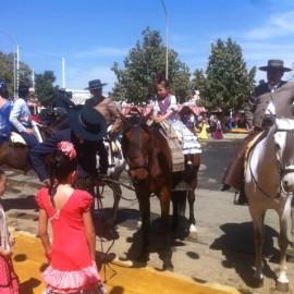 Seville Fair, all this week